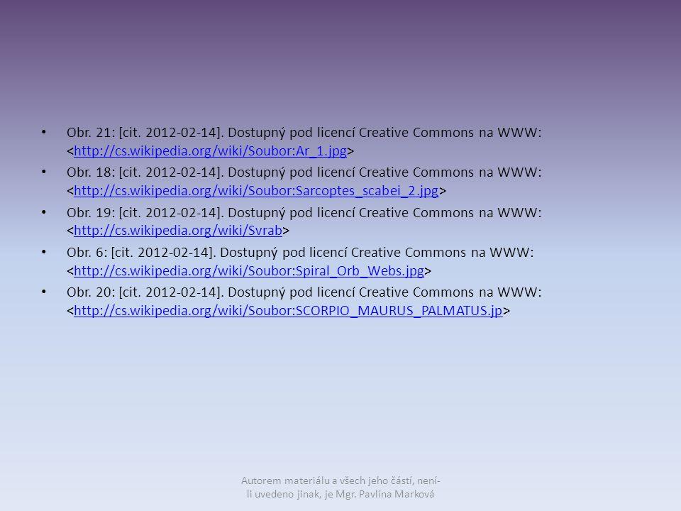 Obr. 21: [cit. 2012-02-14]. Dostupný pod licencí Creative Commons na WWW: <http://cs.wikipedia.org/wiki/Soubor:Ar_1.jpg>